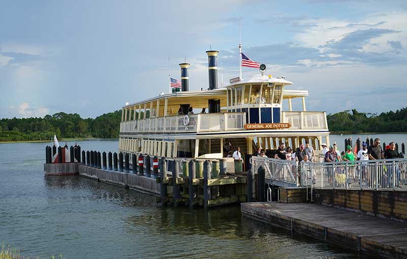 Disney World ferry boats
