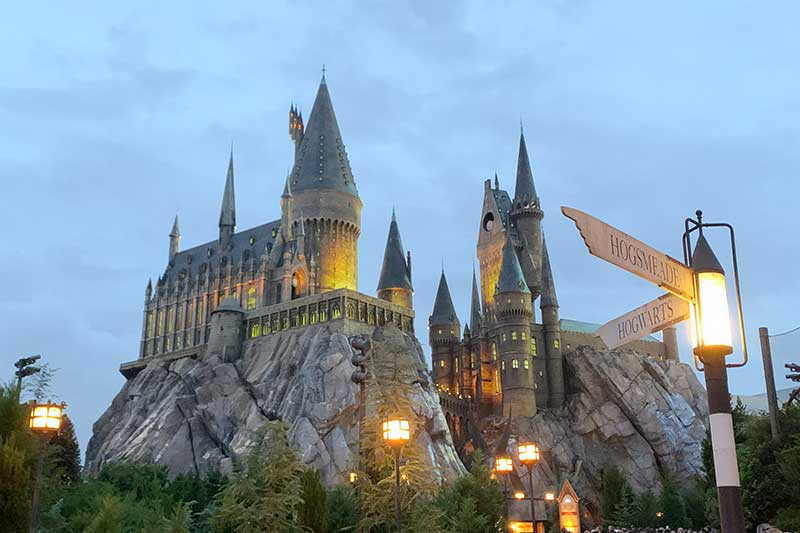 Hogwart's Castle at The Wizarding World of Harry Potter
