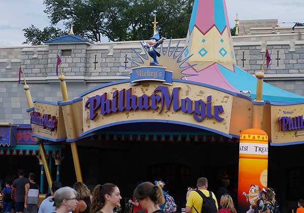 Entrance to Mickey's Philharmagic