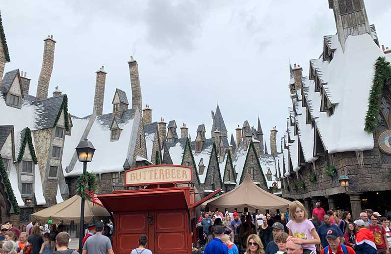universal studios wizarding world