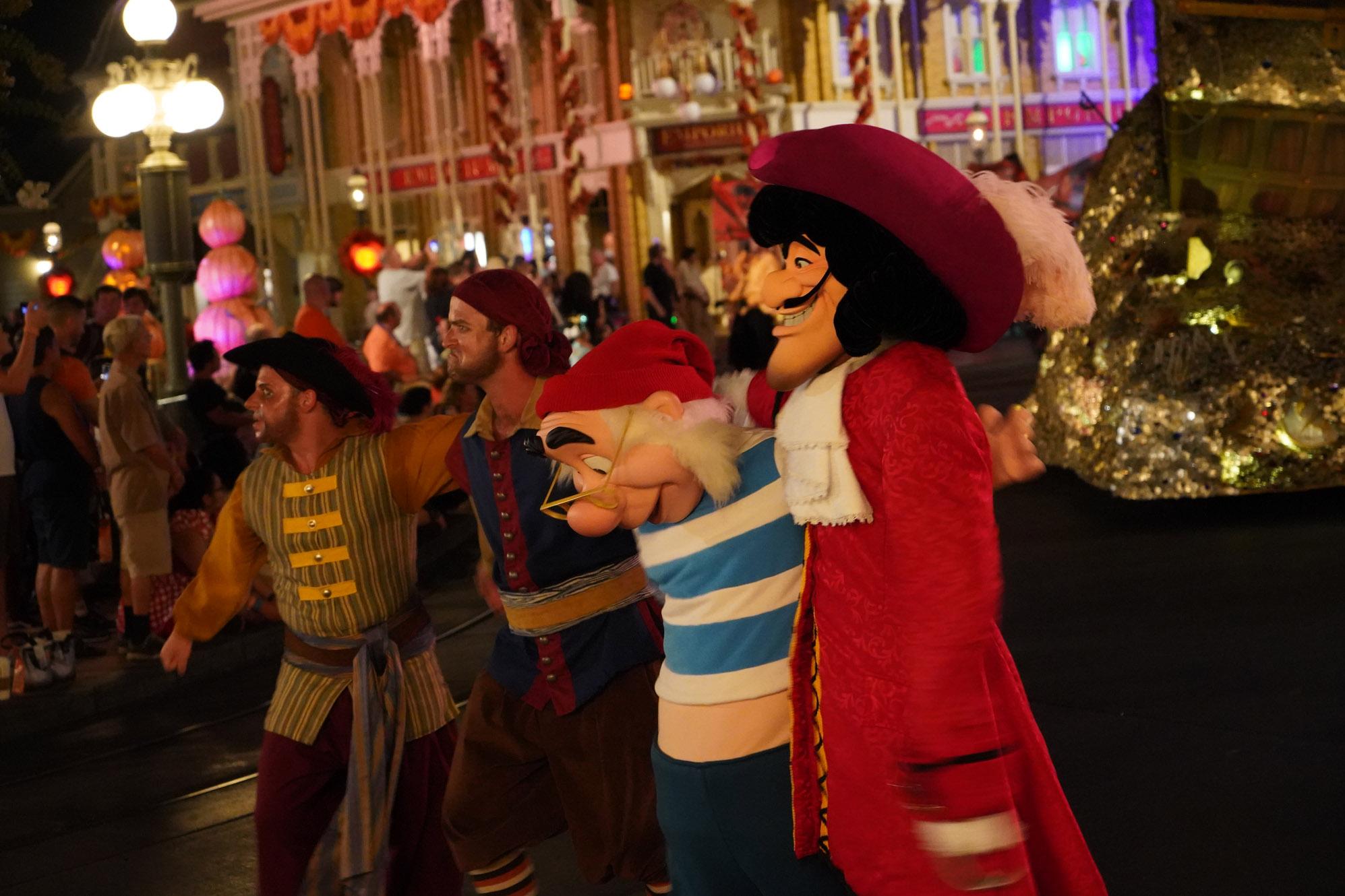 Captain Hook at Magic Kingdom