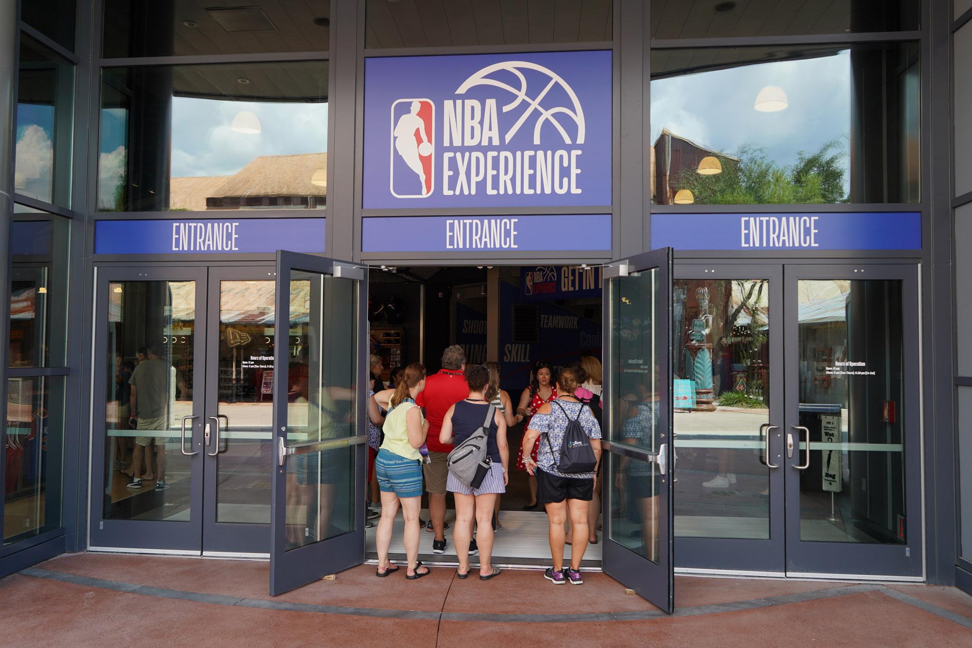 NBA Experience at Disney World