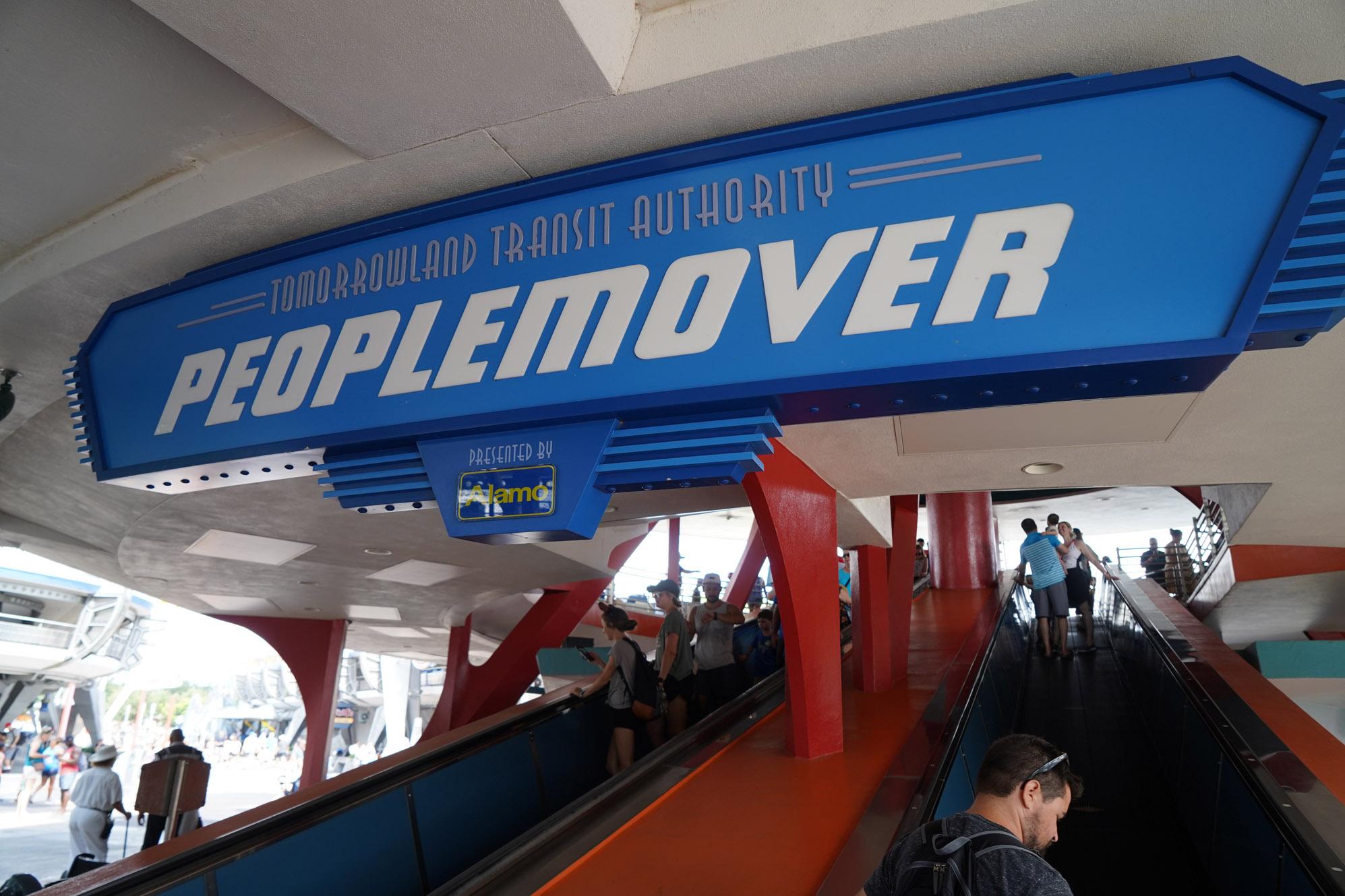 peoplemover - longest rides at disnsney world