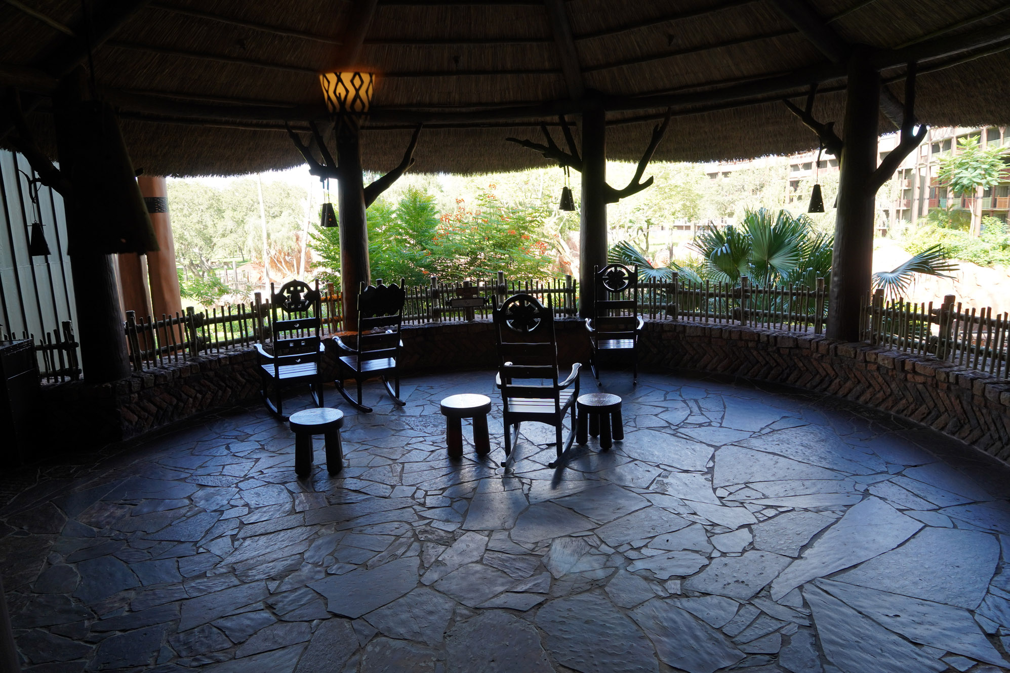 rocking chairs to relax at disney world