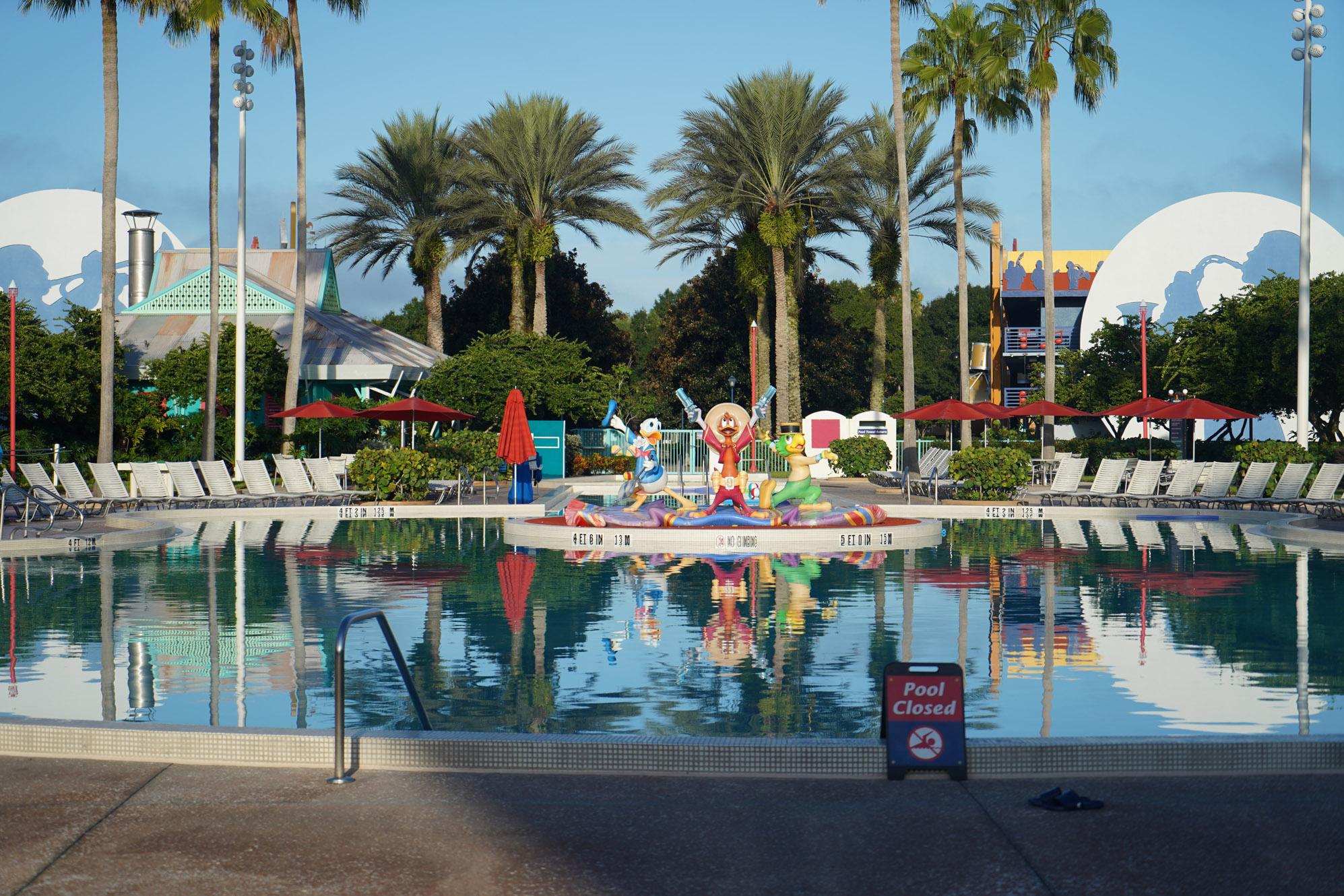 Disney's All-Star Movies Resort pool