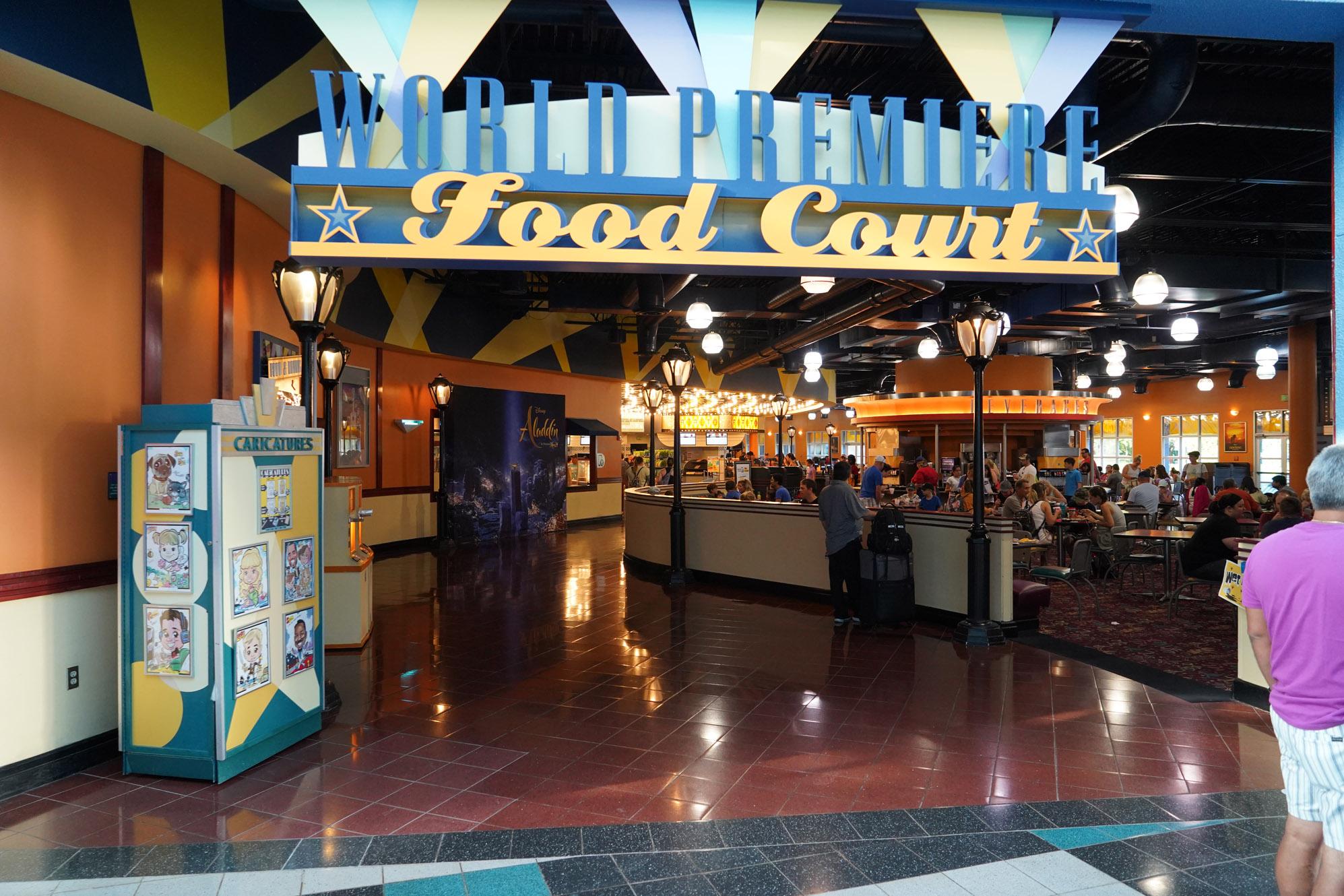 food court at Disney's All-Star Movies Resort