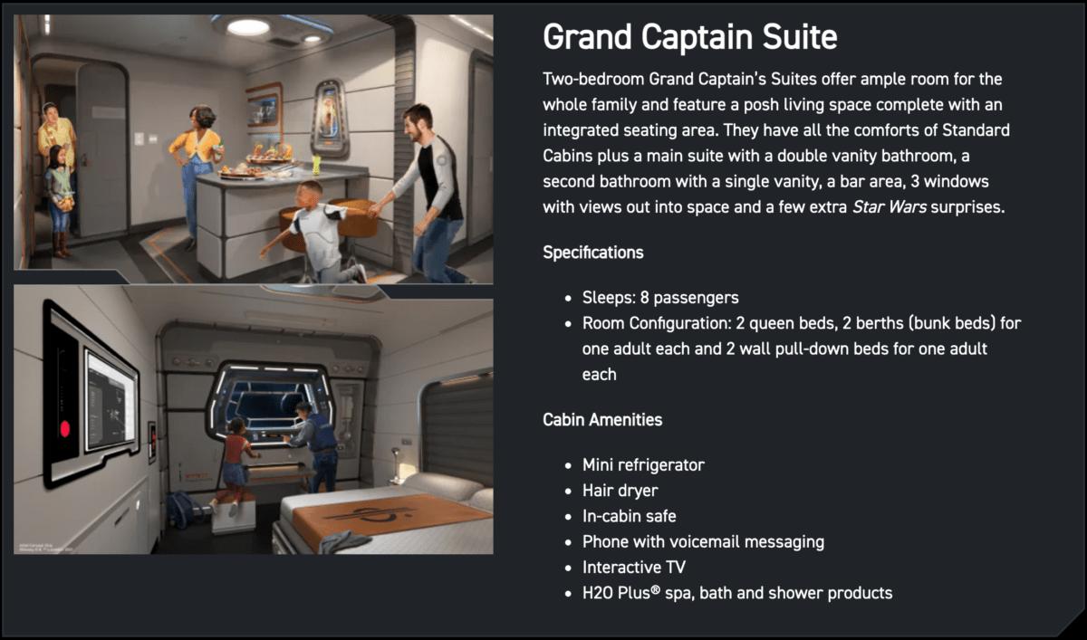 Grand Captain Suite