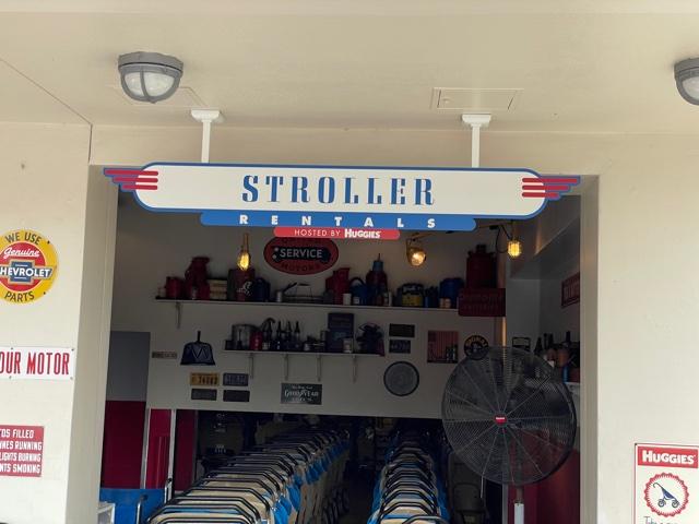 stroller rentals at Disney World