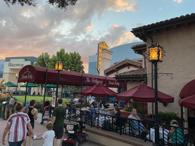 The Hollywood Brown Derby restaurant