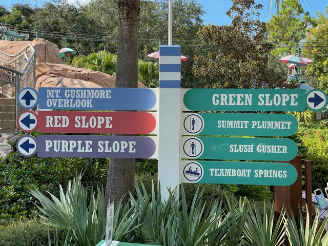 sign at blizzard beach
