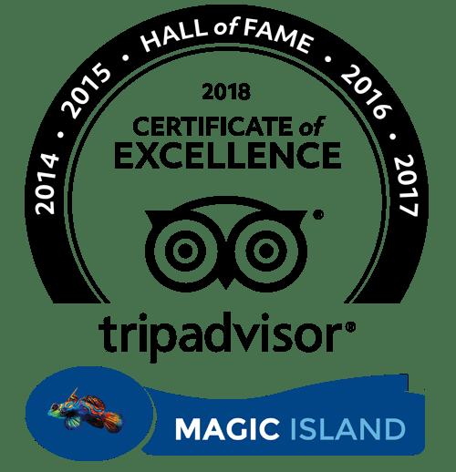 Magic Island - Tripadvisor Hall of fame