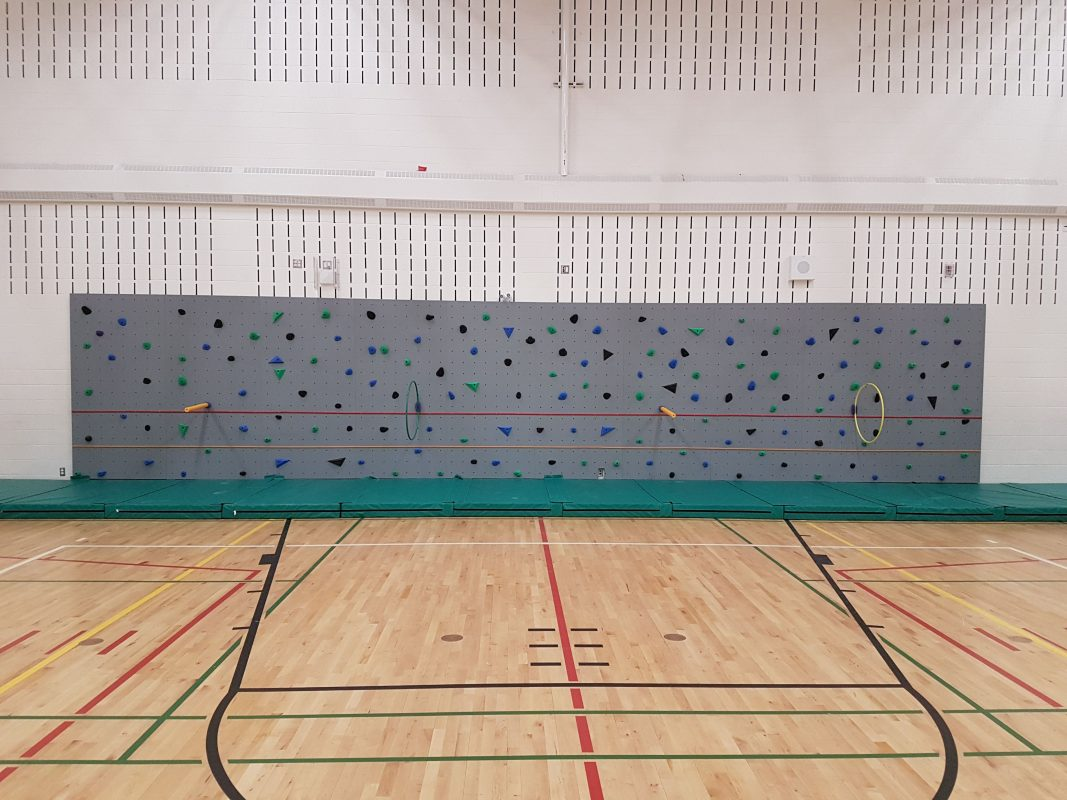Auburn Bay School - 2019 - Traverse Wall