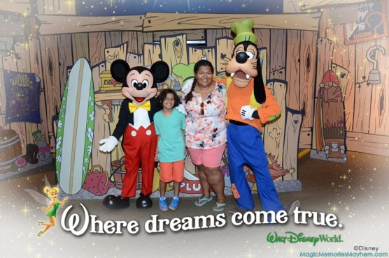Disney's PhotoPass Locations with Characters