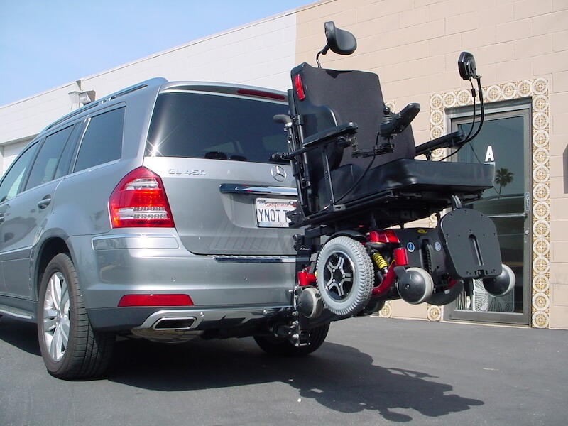 Mobility Scooter Carrier Car Transport  Travel Alone