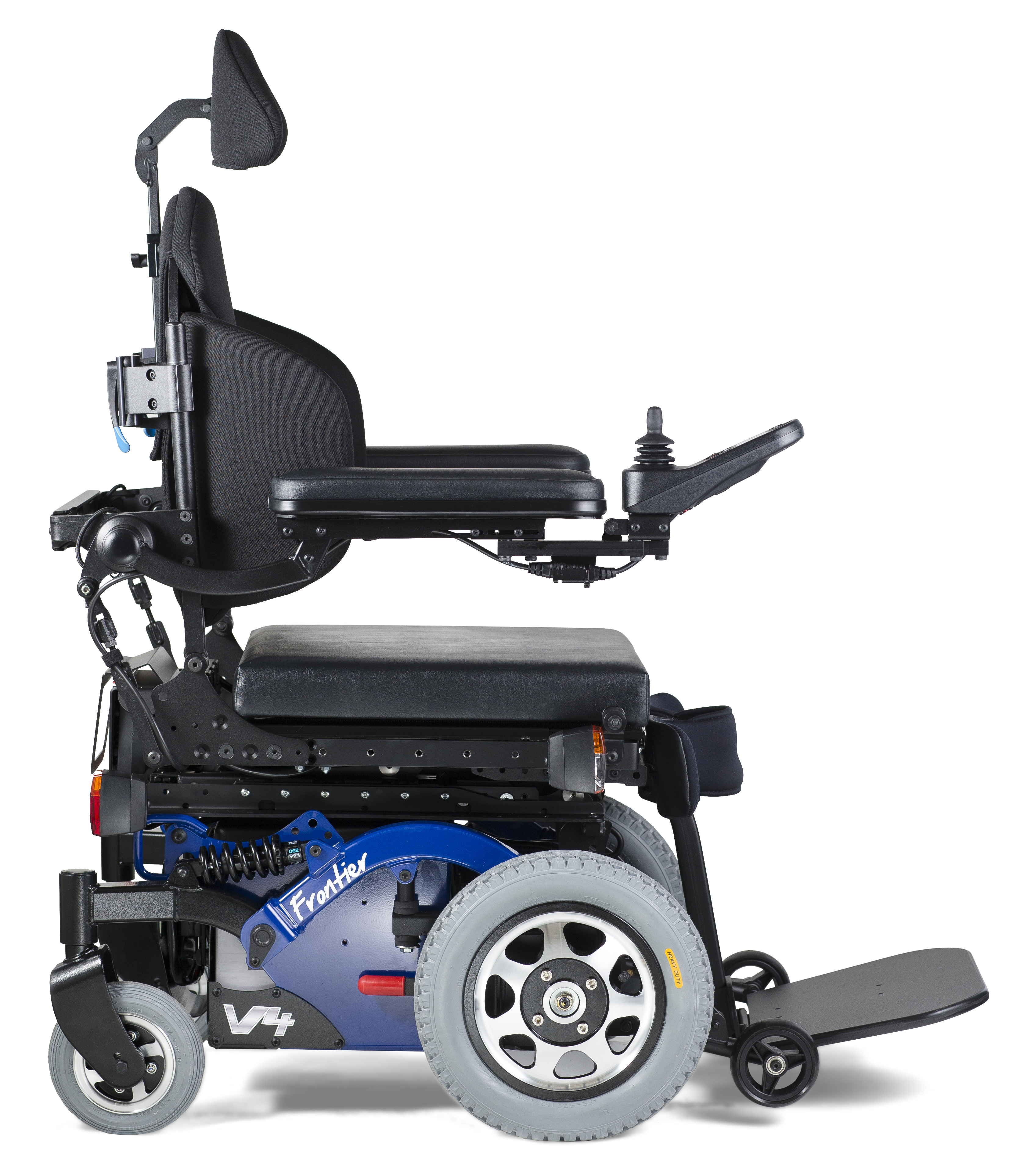 Electric Wheel Chairs Frontier V4 Hybrid Fwd Electric Wheelchair Magic Mobility