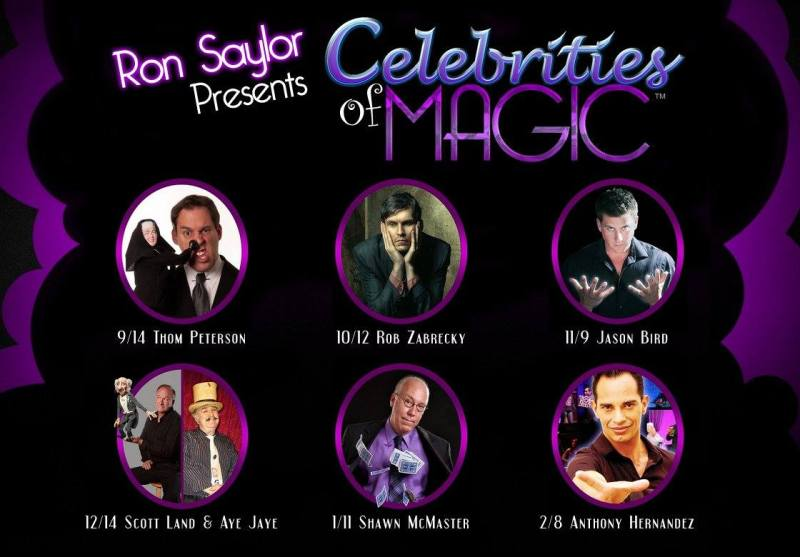 Las Vegas Magician Jason Bird stars in Celebrities of Magic 2015