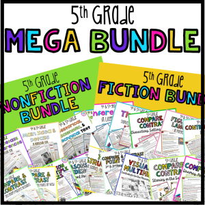 Various 5th Grade Reading Lessons