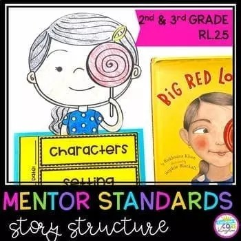 Story Structure Mentor Texts - 2nd & 3rd Grade RL.2.5