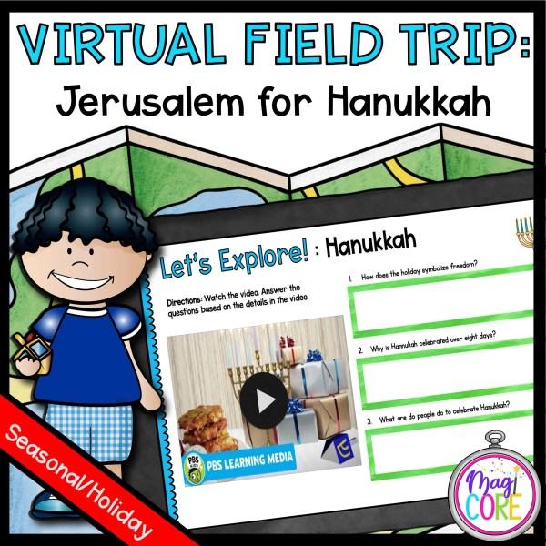 Virtual Field Trip to Jerusalem for Hanukkah