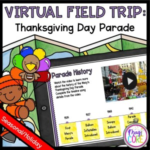 Virtual Field Trip to Thanksgiving Day Parade