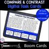 Compare & Contrast Boom Cards for 4th & 5th Grade