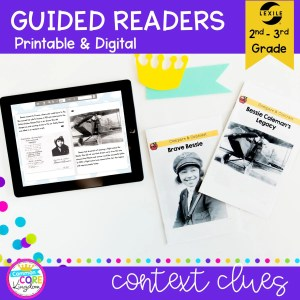Guided Readers on Compare & Contrast for 2nd & 3rd Grade RI.2.9 RI.3.9