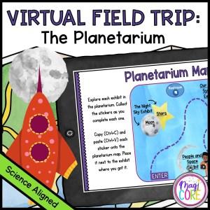 Virtual Field Trip to the Planetarium - Google Slides & Seesaw