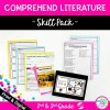 Skill Pack: Comprehend Literature - 2nd & 3rd Grade | RL.2.10 RL.3.10 Classroom & Distance Learning
