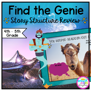 Story Structure Review Escape Room - 4th & 5th Grade - Digital & Print