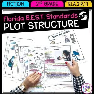 Plot Structure - 2nd Grade Florida BEST Standards - B.E.S.T. ELA.2.R.1.1