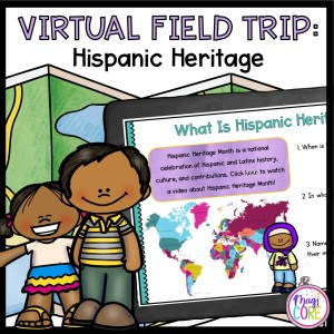 Virtual Field Trip: Hispanic Heritage - Google Slides & Seesaw