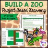 2nd Grade Build a Zoo Math Project Based Learning - Printable & Google Slides