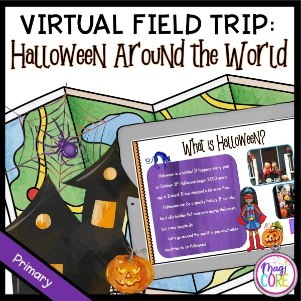 Virtual Field Trip: Halloween Around the World - Primary - Google Slides & Seesaw