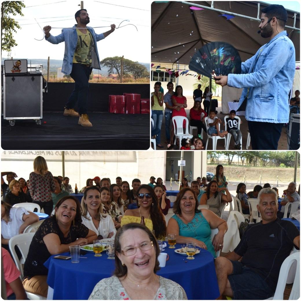 Show De Mágica Com Mágico Rui Na Comemoração De 20 Anos Da Mecal Bras Dia 09 07 2016