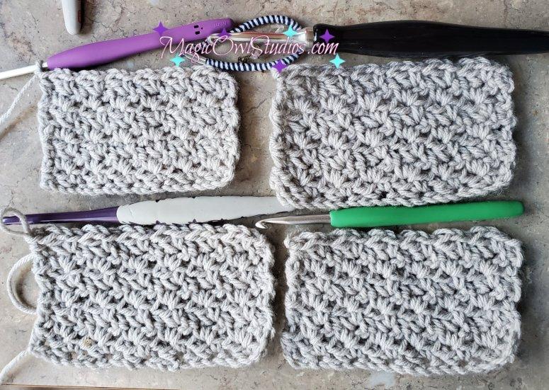 comparison wattle stitch