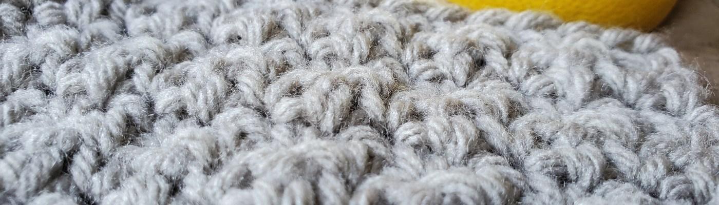 the crochet lemon peel stitch