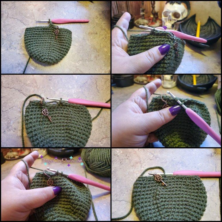crochet apple round 17