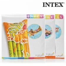 Φουσκωτό Στρώμα Λουλούδια Intex 59724 Πορτοκαλί