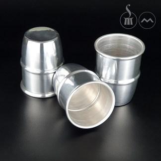 Morrissey Cups in aluminium (LARGE)