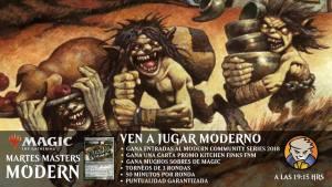 Martes Masters: Modern @ Magicsur Chile