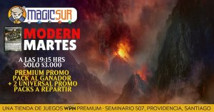 Modern Martes (Promo Packs + Kitchen Finks) @ Magicsur Chile