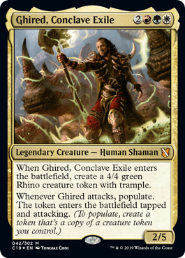 Ghire, Conclave Exile - Commander 2019