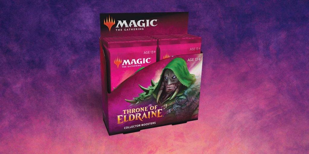 Collector Booster Pack - El Trono De Eldraine