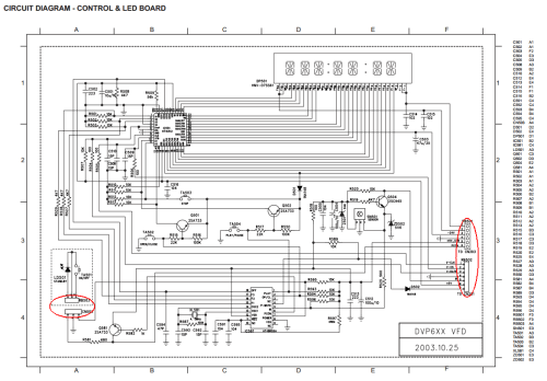 small resolution of philips dvp630 vfd pcb hacking points