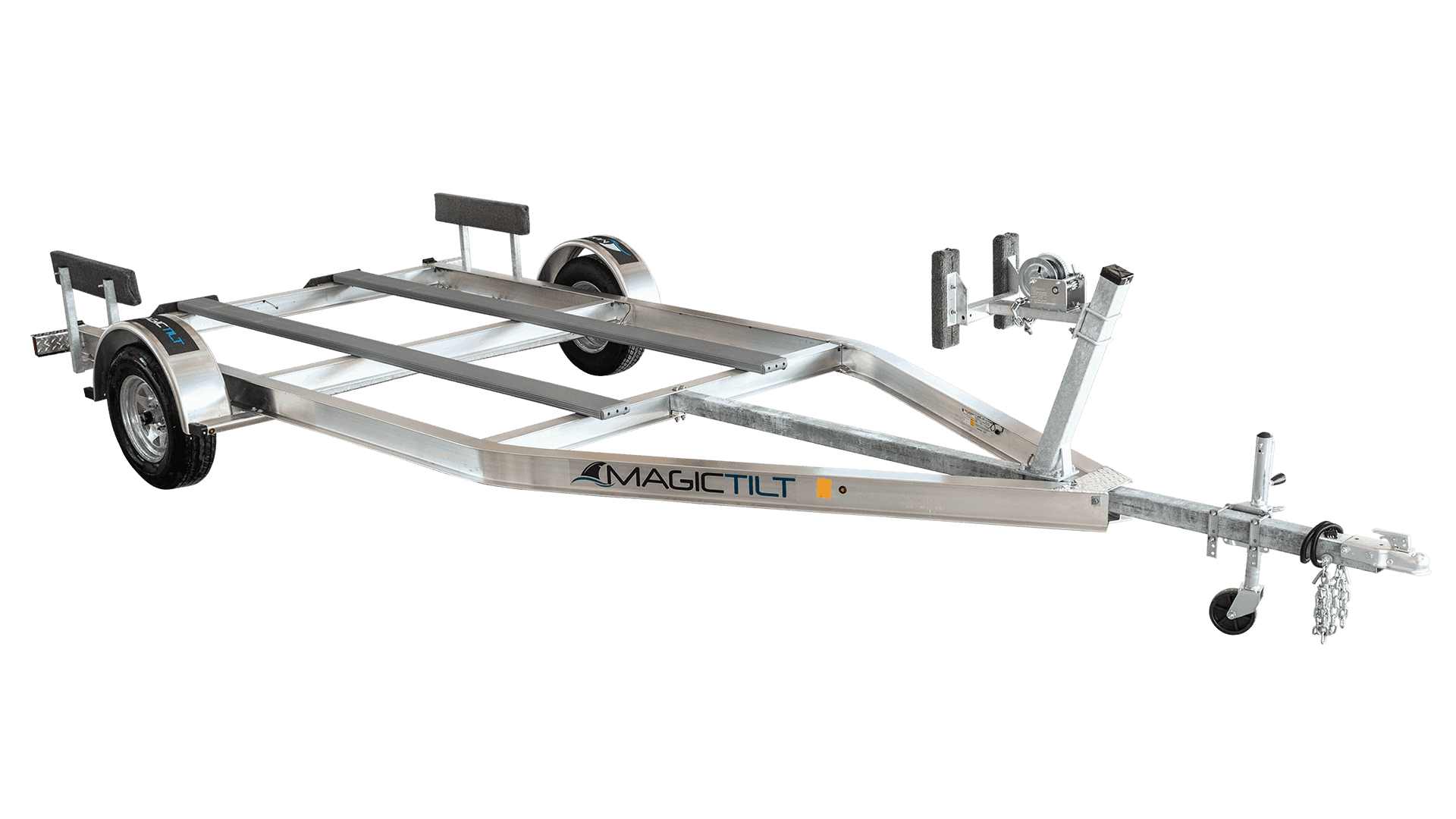 hight resolution of airboat series single axle aluminum