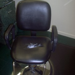 Mobile Barber Chair Leather Desk Chairs Taylor Restorations Upholstery Repair Made Easy