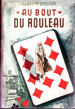 """Couverture de """"Au bout du rouleau, de Georges Simenon."""