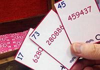 Télépathie simulée pour lire des nombres & des signes choisit au hasard