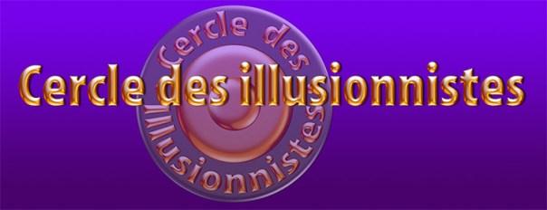 Bandeau et logo du Cercle des illusionnistes. Création ©2014 Richard Martens
