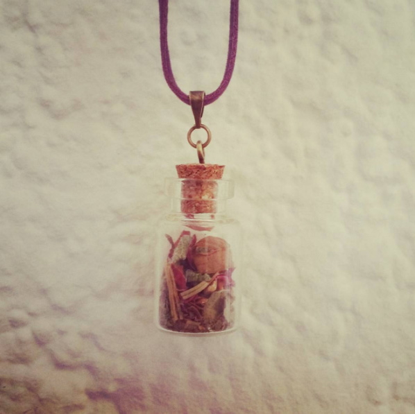 Hexenflasche Selbst-Liebe